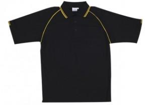 2TP09-2 tone polo black yellow