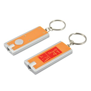 FLAT TORCH KEYRING WITH 1 COL