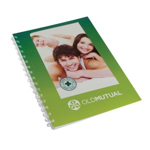 METAL COVER SPIRAL BOUND DIARY A4 WITH FULL COLOR