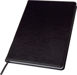 Notebook with PU cover..