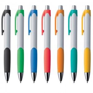 Plastic white ball pen