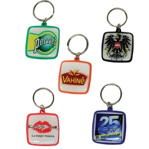 QUANTUM DOME KEYRING WITH FULL COL BRANDING