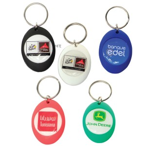 RODEO DOME KEYRING WITH FULL COL BRANDING