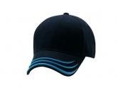 Wave navypowderblue cap