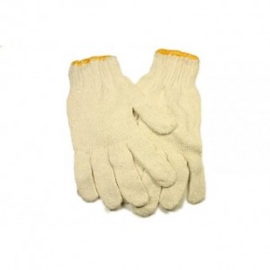 cotton gloves. R7,00.  21,00 MT.  1,00 USD