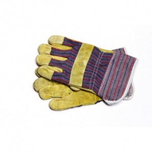 pig skin Candy stripe glove. R45,00.  135,00 MT.  14,00 USD