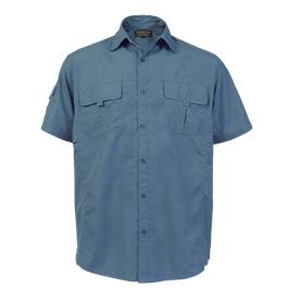 LO-DEL. Delta shirt. Blue