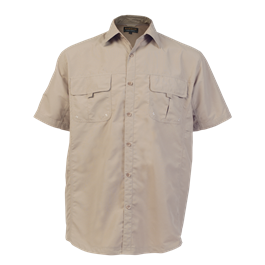 LO-DEL. Delta shirt. Khaki