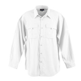 LO-out. Mens outback Shirt. white