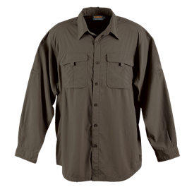 Mens outback shirt. LO_OUT. Khaki
