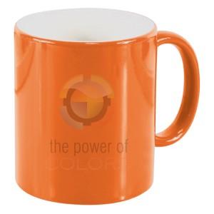NEXUS COLOUR CHANGE MUG orange