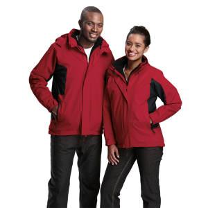 4 in one Jacket red