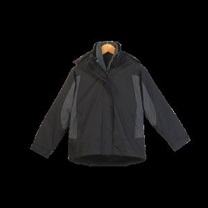 4 in one jacket black, grey
