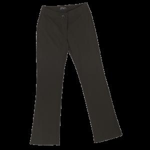 ladies statement  stretch pants black