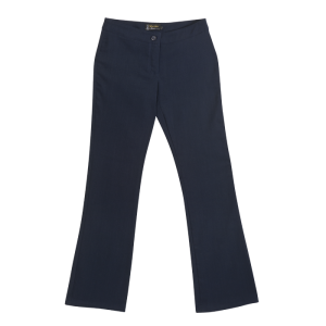 ladies statement stretch pants navy